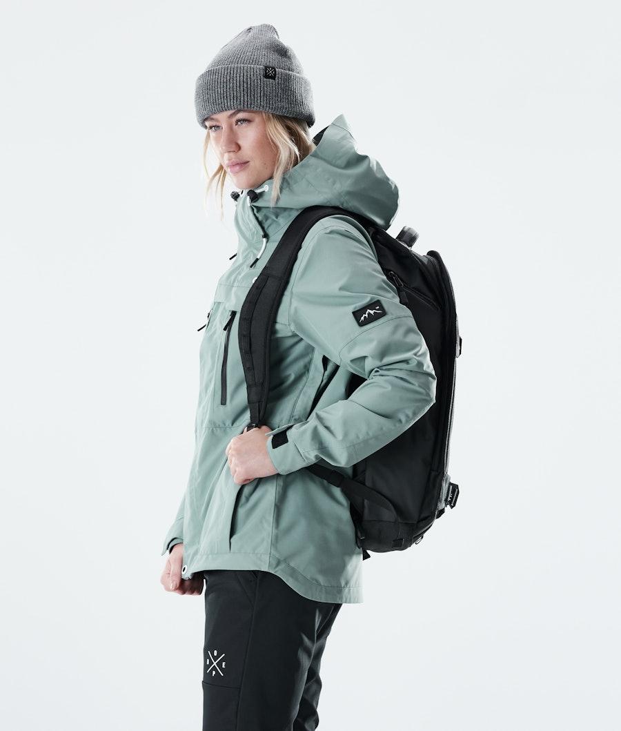 Dope Trekker W Outdoor Jas Dames Faded Green