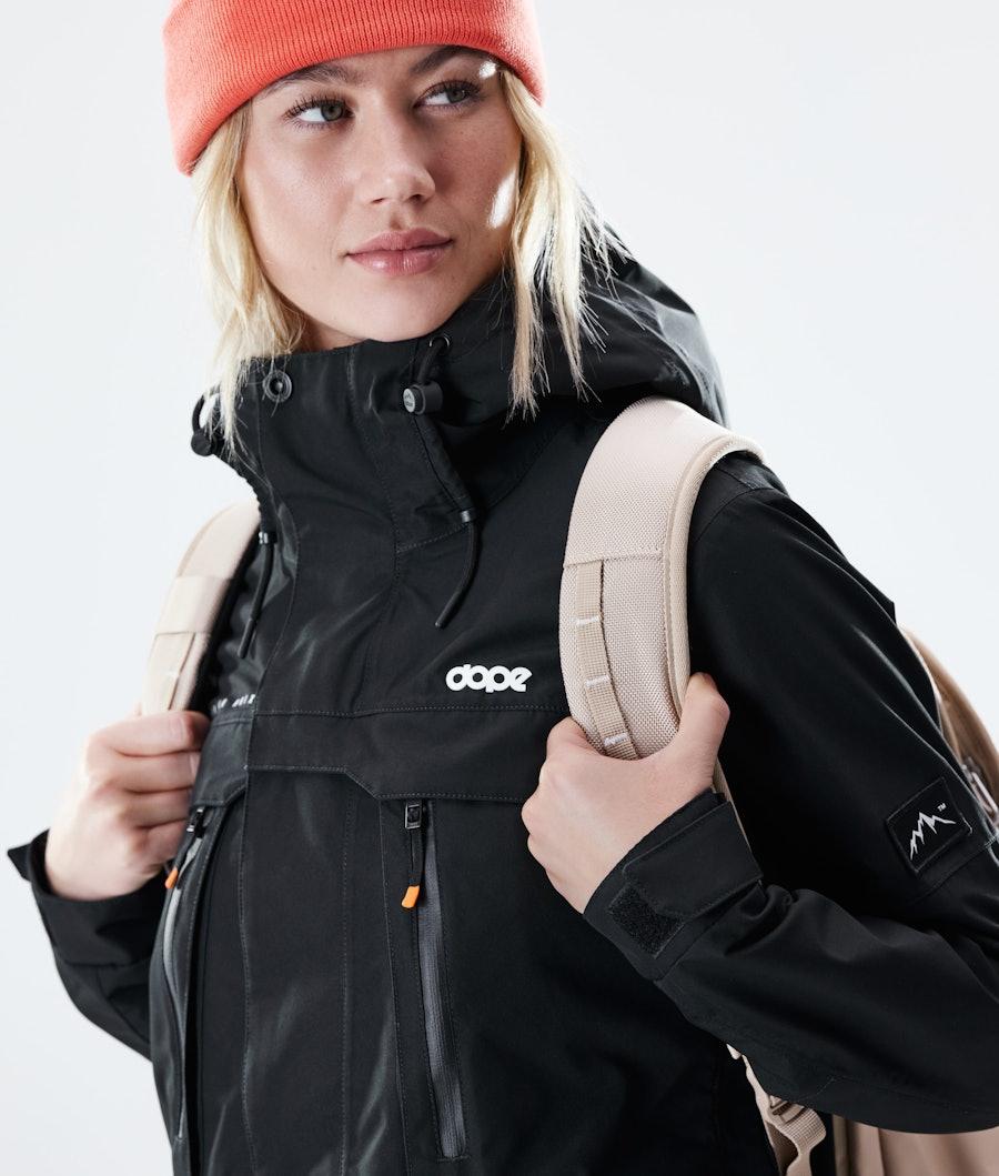 Dope Trekker W Outdoor Jas Dames Black