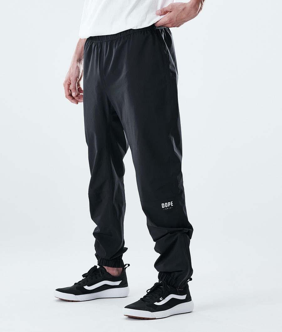 Dope Drizzard Pants Regenbroek Black