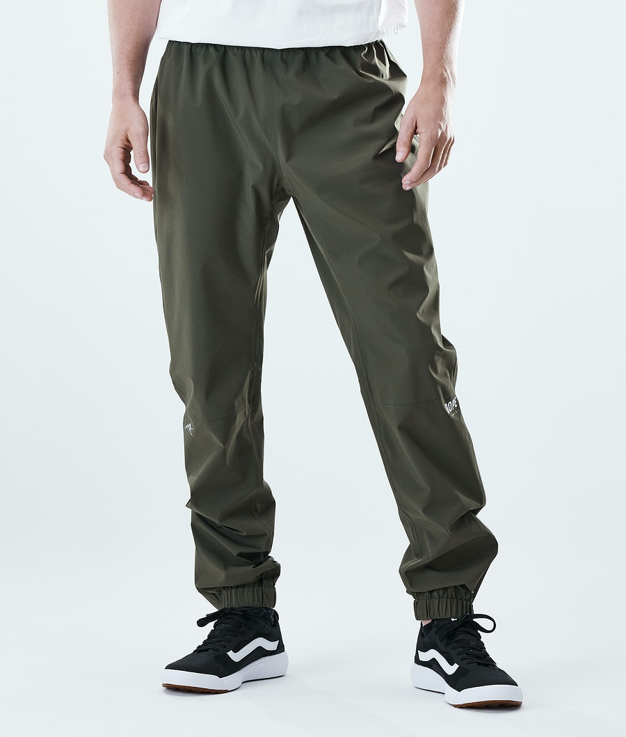 Dope Drizzard Regnbukse Olive Green