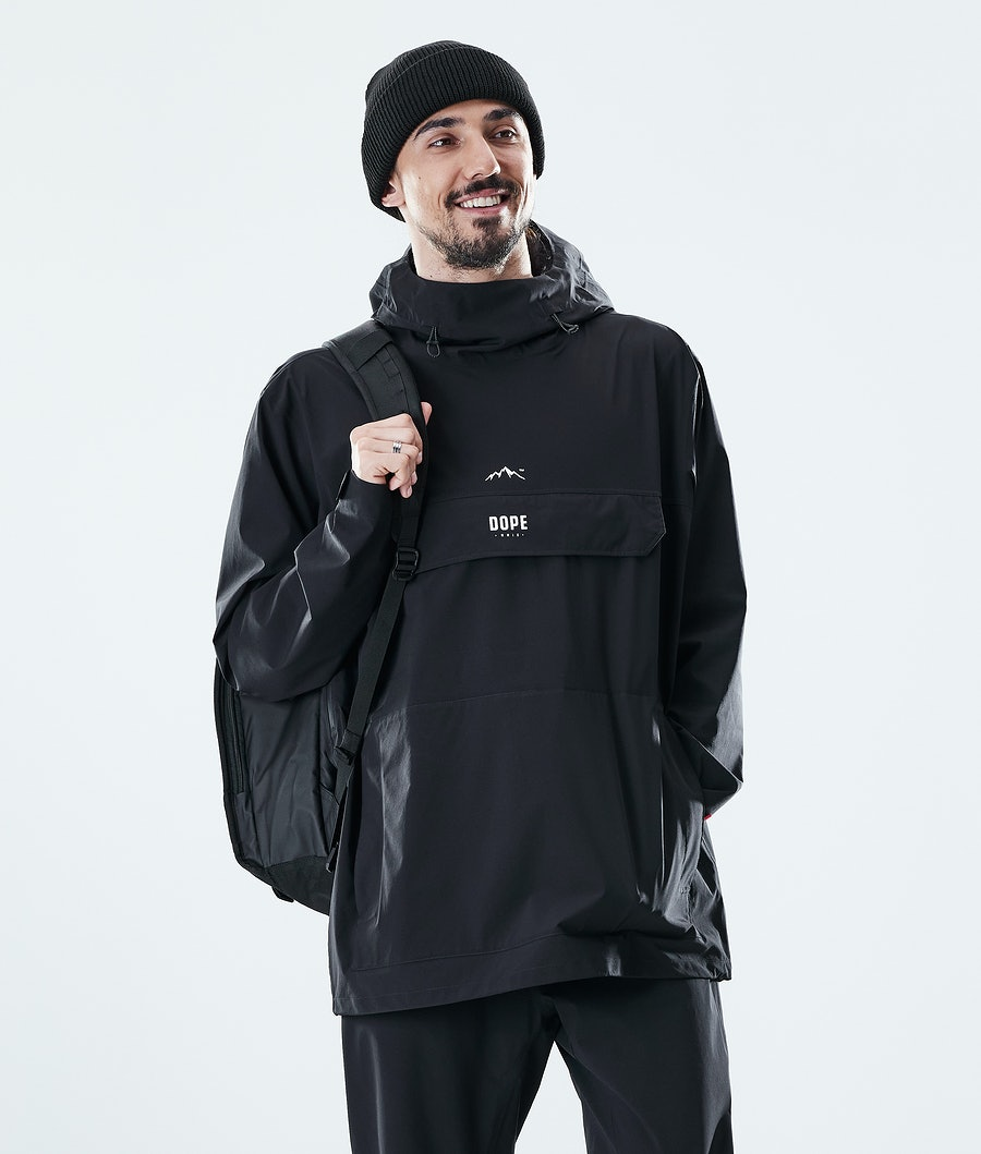 Dope Drizzard Rain Jacket Black