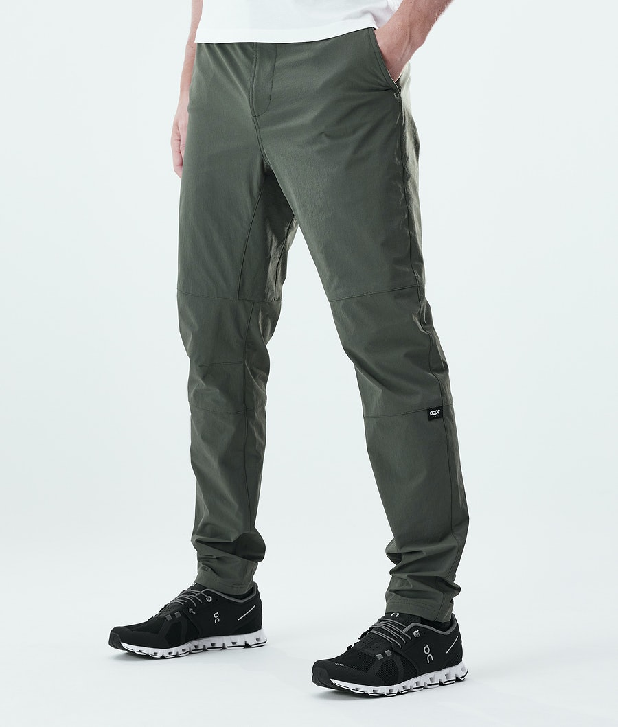 Dope Rover Tech Pants Olive Green