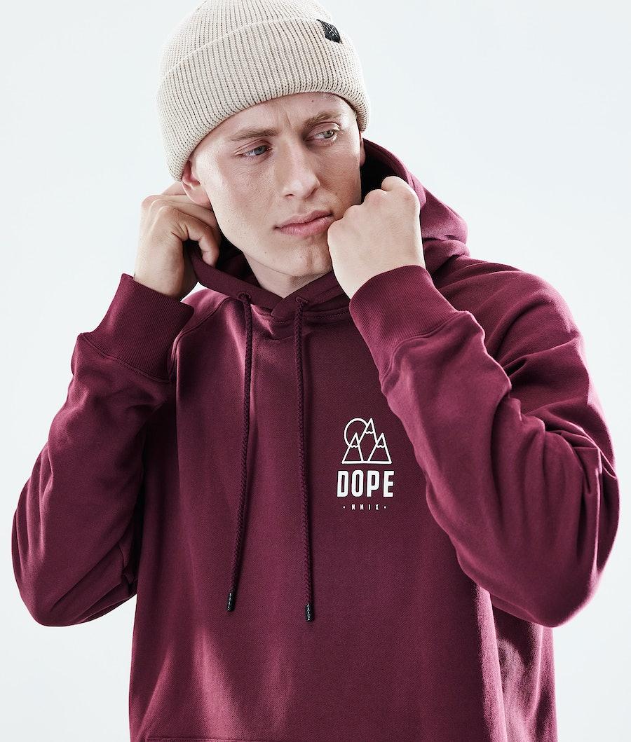 Dope Daily Rise Hoodie Burgundy