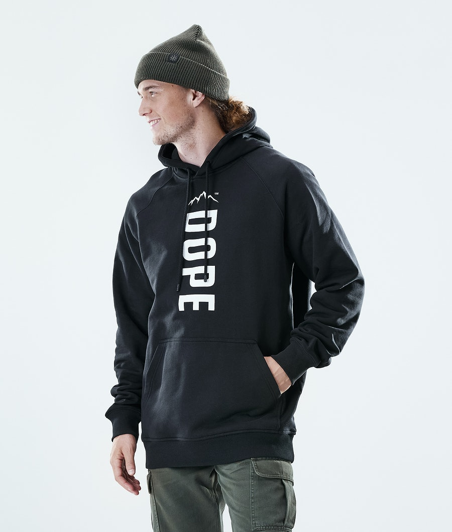 Dope Daily Capital Hoodie Black