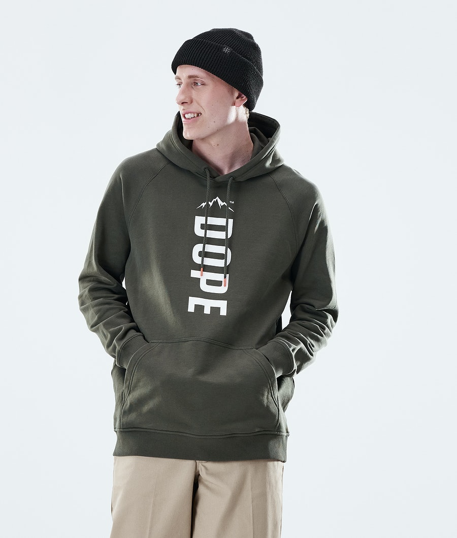 Dope Daily Capital Hood Olive Green