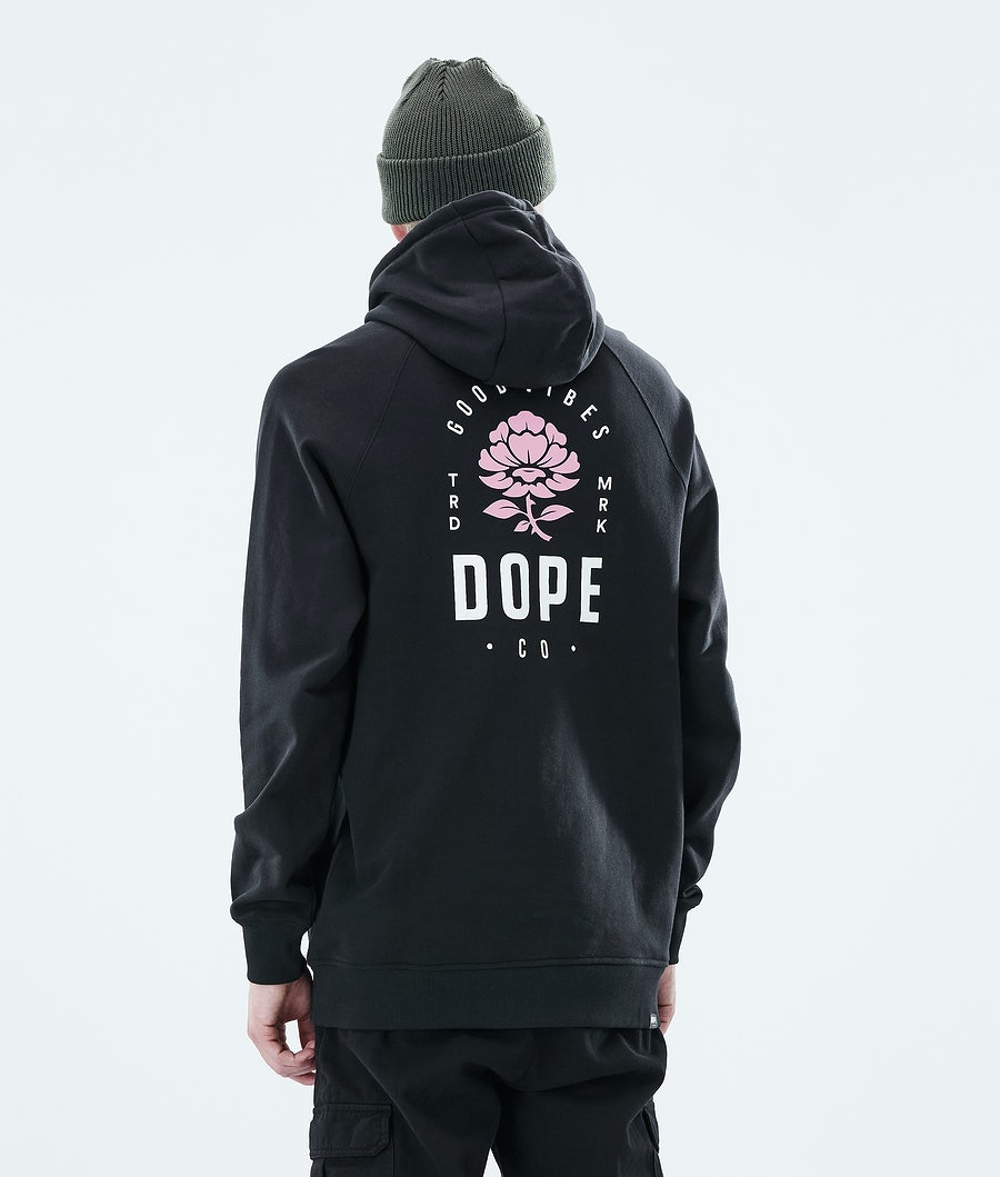 Dope Daily Rose Hood Black