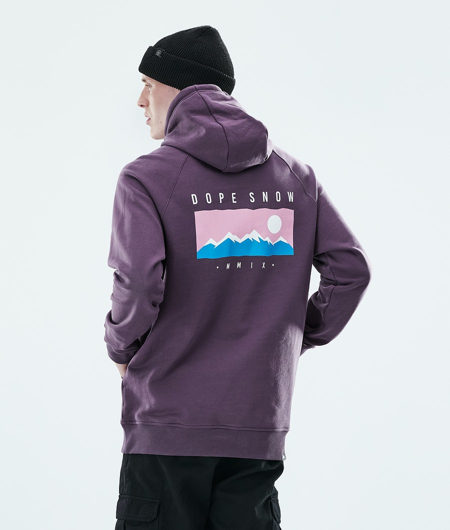 Dope Daily Range Hoodie Faded Grape