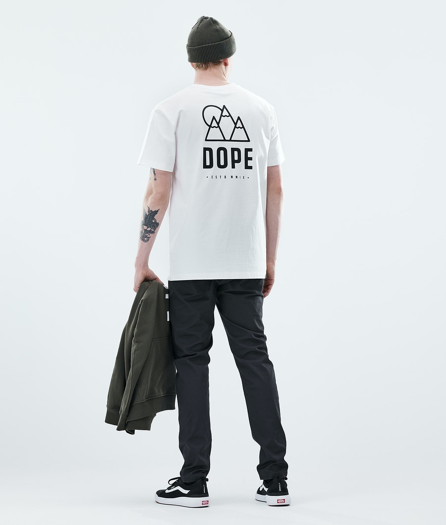 Dope Daily Rise T-shirt White