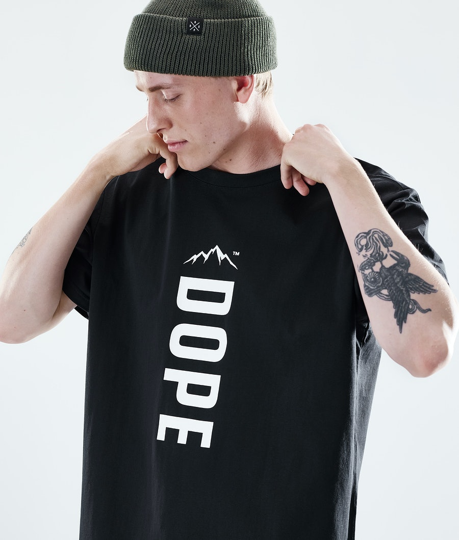 Dope Daily Capital T-shirt Black