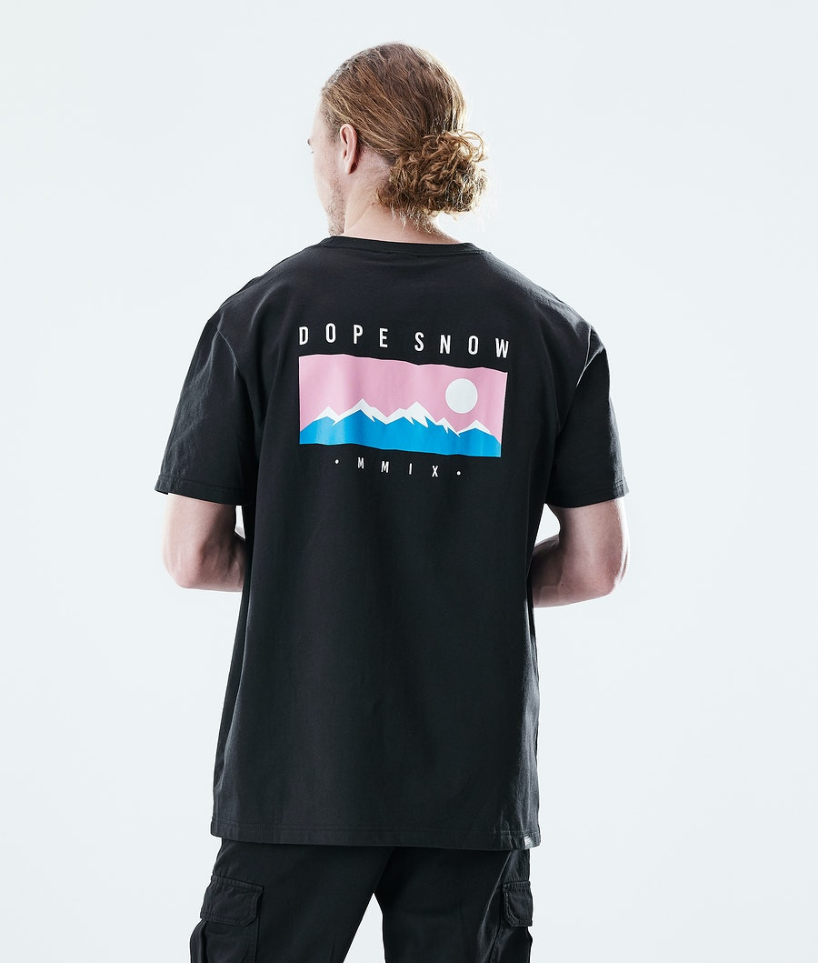 Daily Range T-shirt Men Black