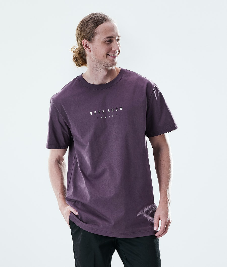 Dope Daily Range T-shirt Faded Grape