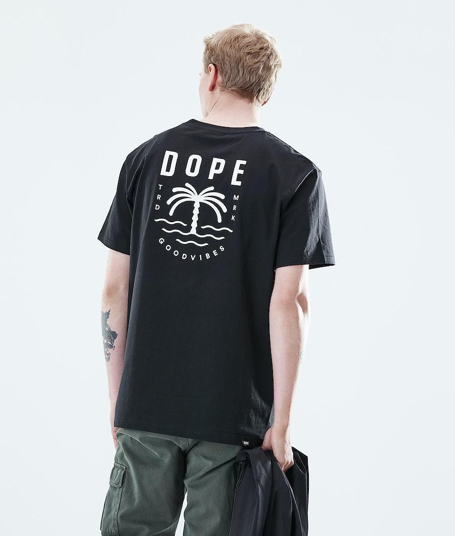 Daily Palm T-shirt Men Black