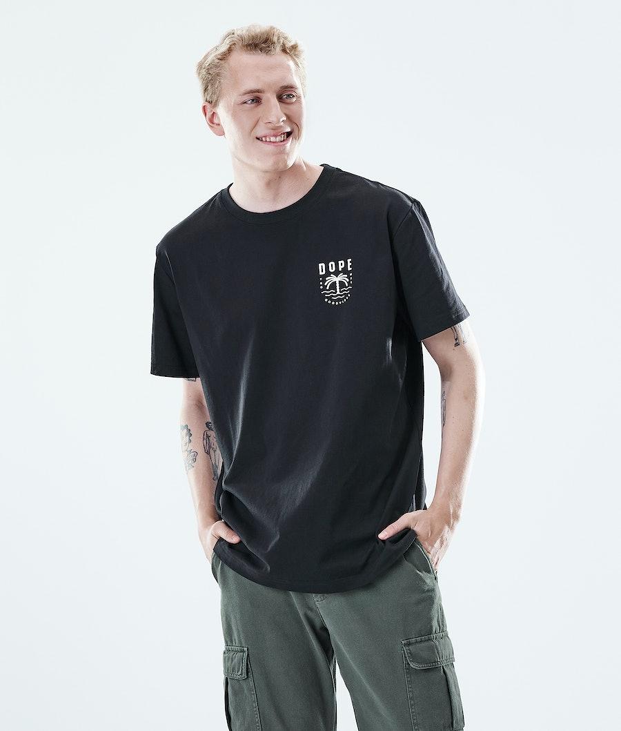 Dope Daily Palm T-shirt Black