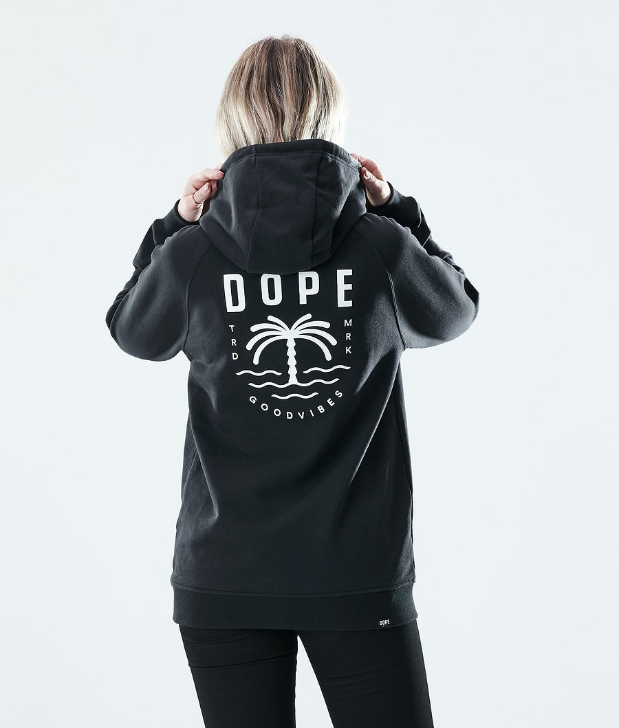Dope Regular Palm Hoodie Black