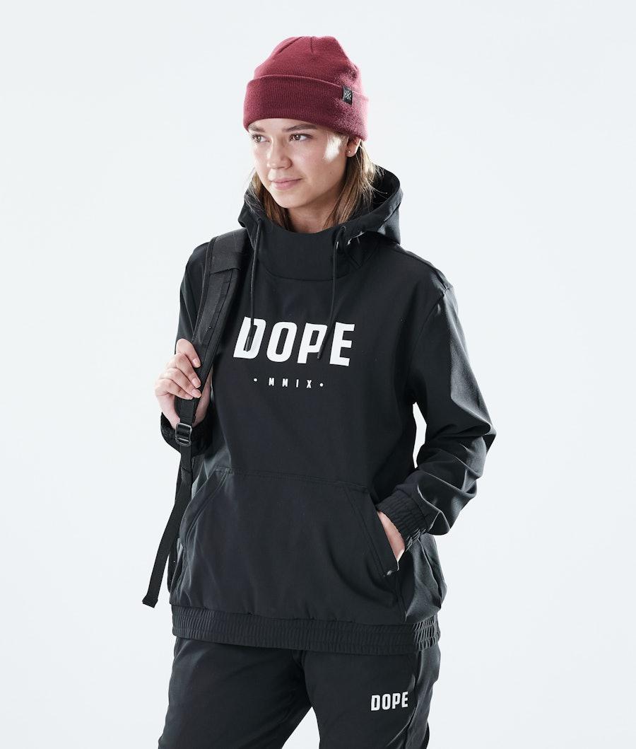 Dope Flight W PO Hood Black