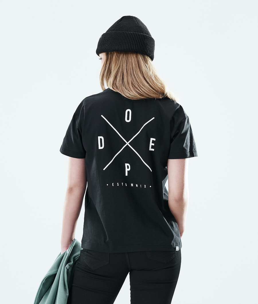 Dope Regular 2X-UP T-shirt Black