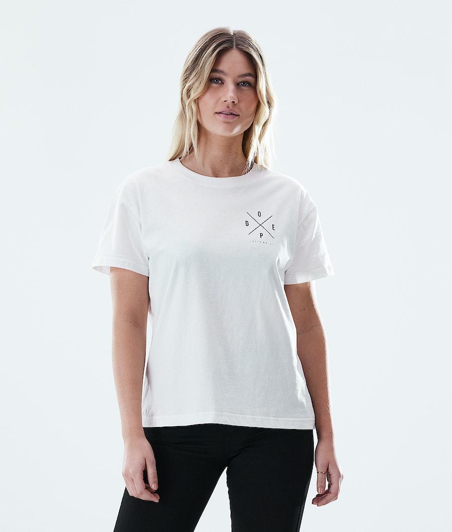 Dope Regular 2X-UP T-shirt White