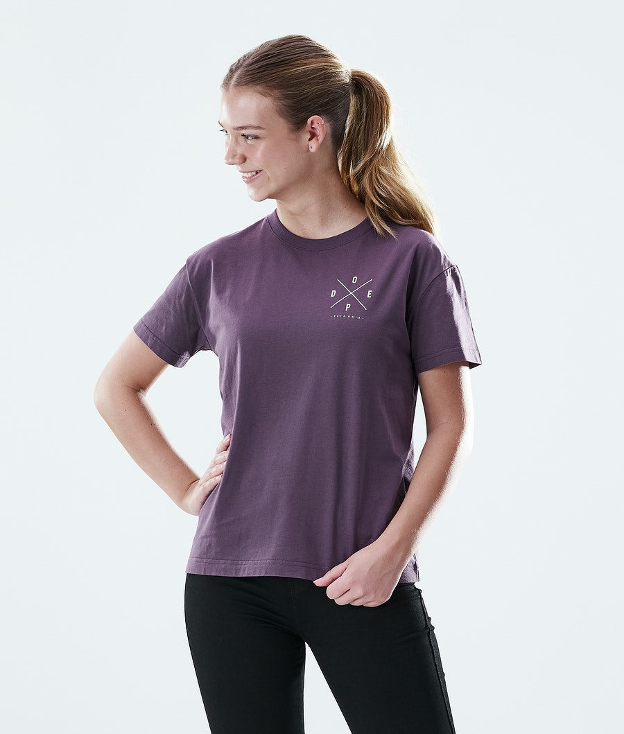 Dope Regular 2X-UP T-Shirt Faded Grape