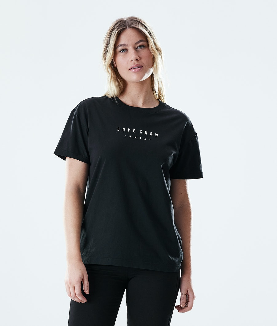 Dope Regular Range T-shirt Dam Black