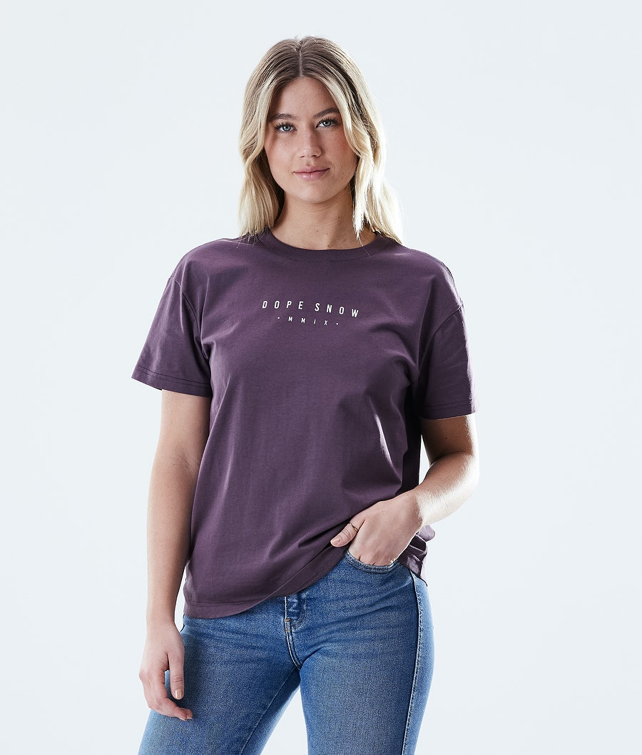 Dope Regular Range T-Shirt Faded Grape