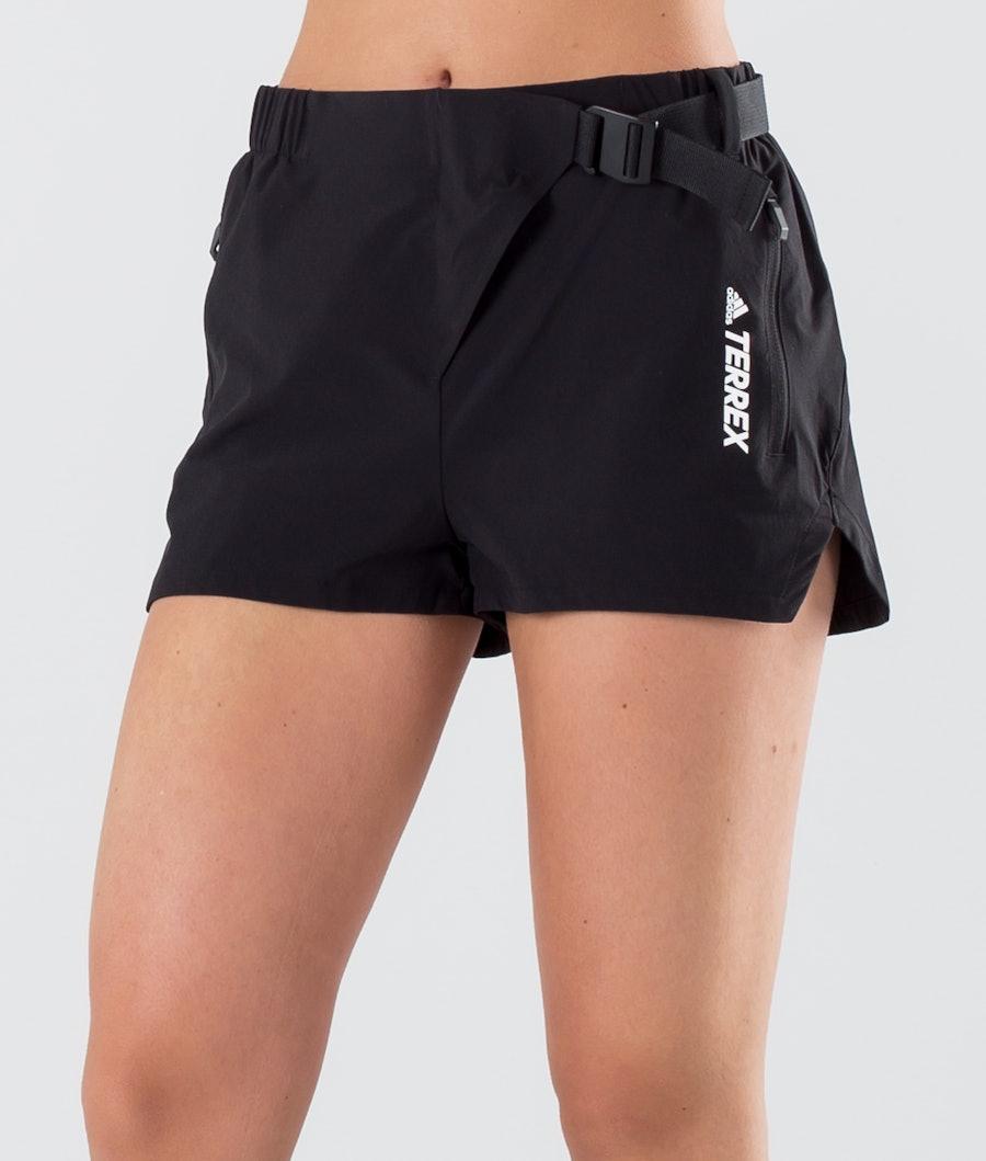 Adidas Terrex Hike Shorts Randonnée Femme Black