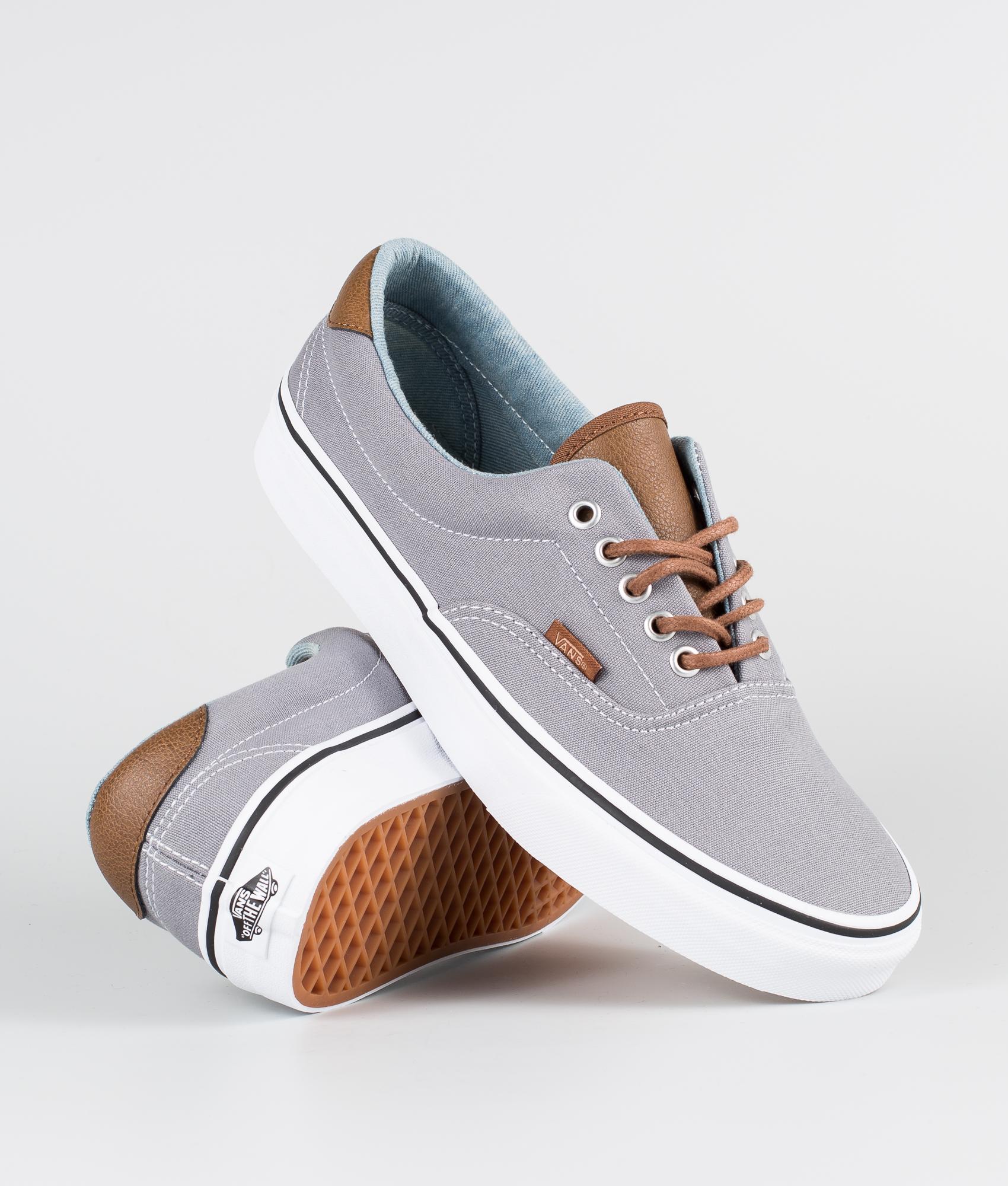Vans Ua Era 59 Shoes (C&L) Frost Gray/Acid Denim