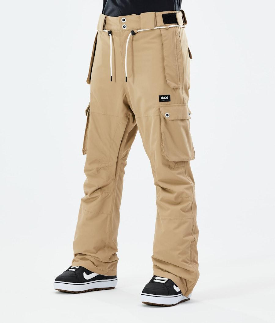 Iconic W Snowboard Pants Women Khaki