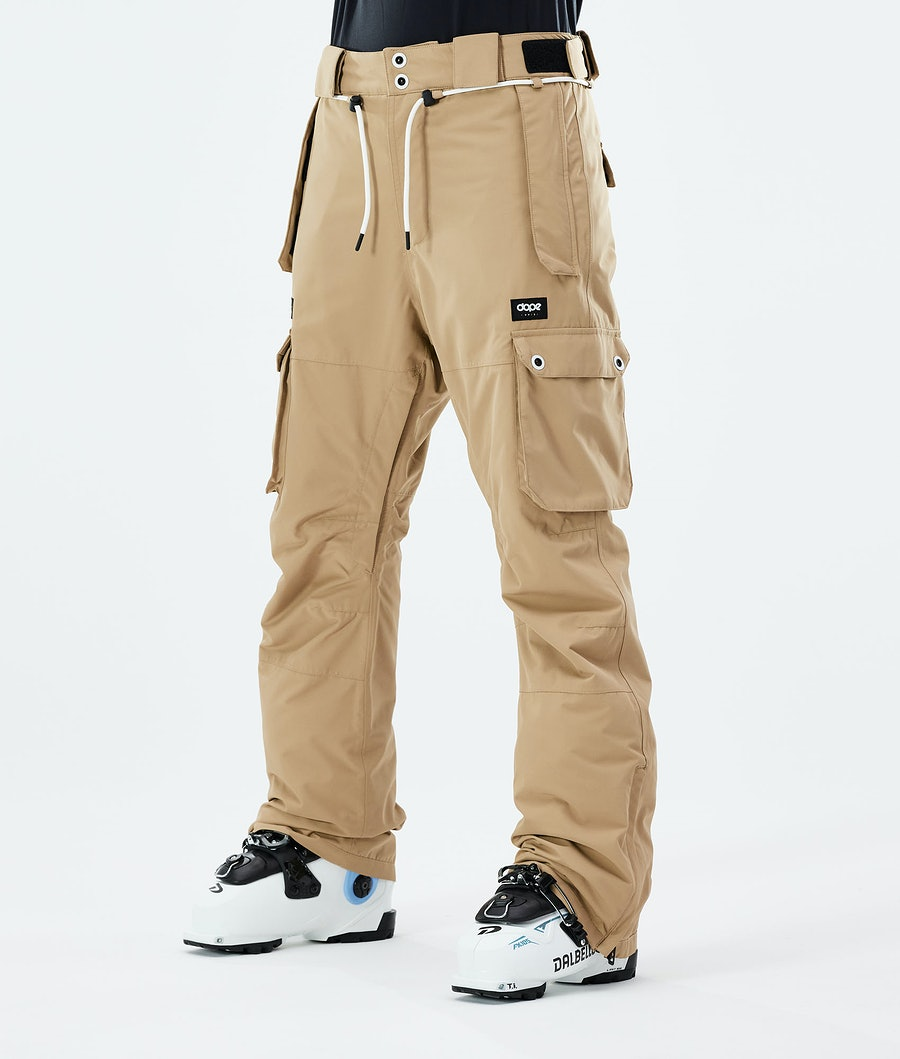 Dope Iconic W Ski Pants Khaki