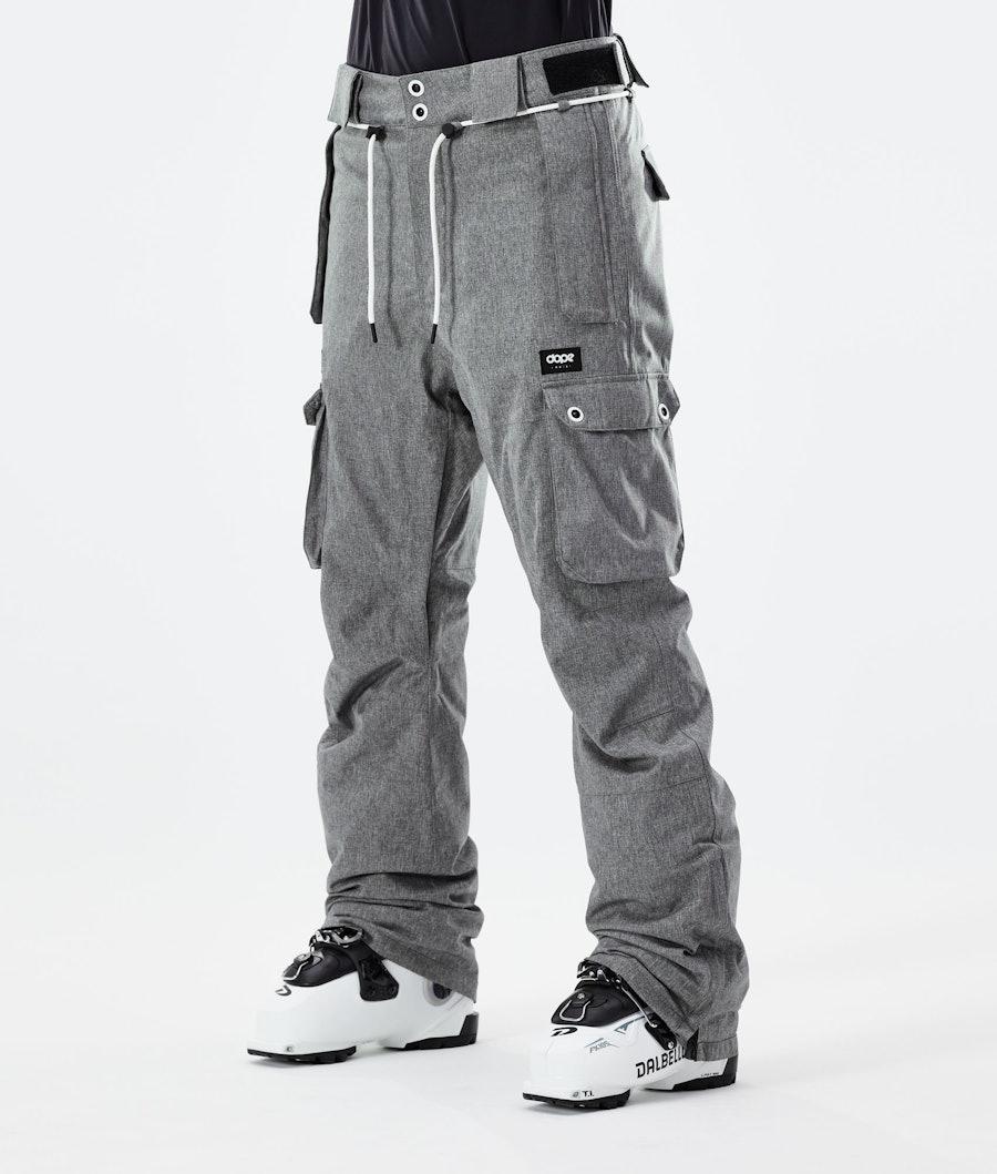 Dope Iconic W Ski Pants Grey Melange