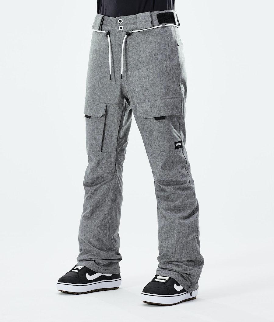 Dope Grace Pantaloni Snowboard Grey Melange