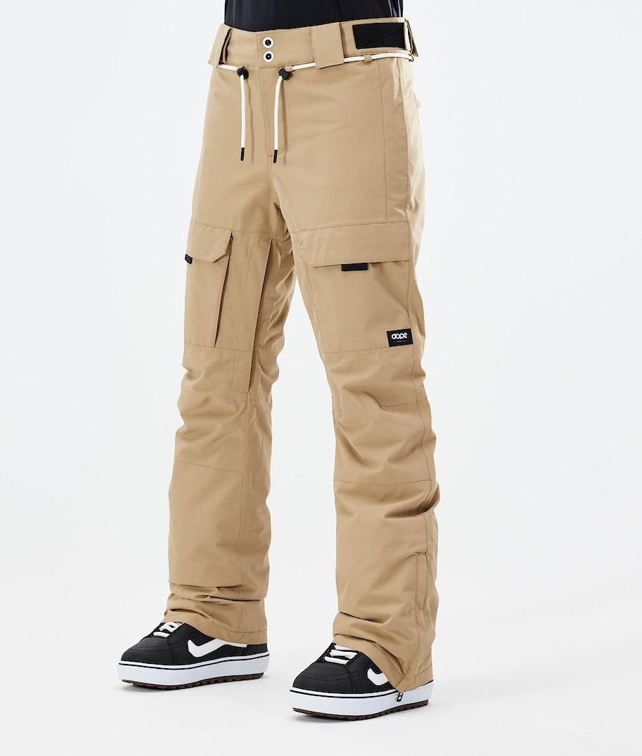 Dope Grace Ski Pants Khaki
