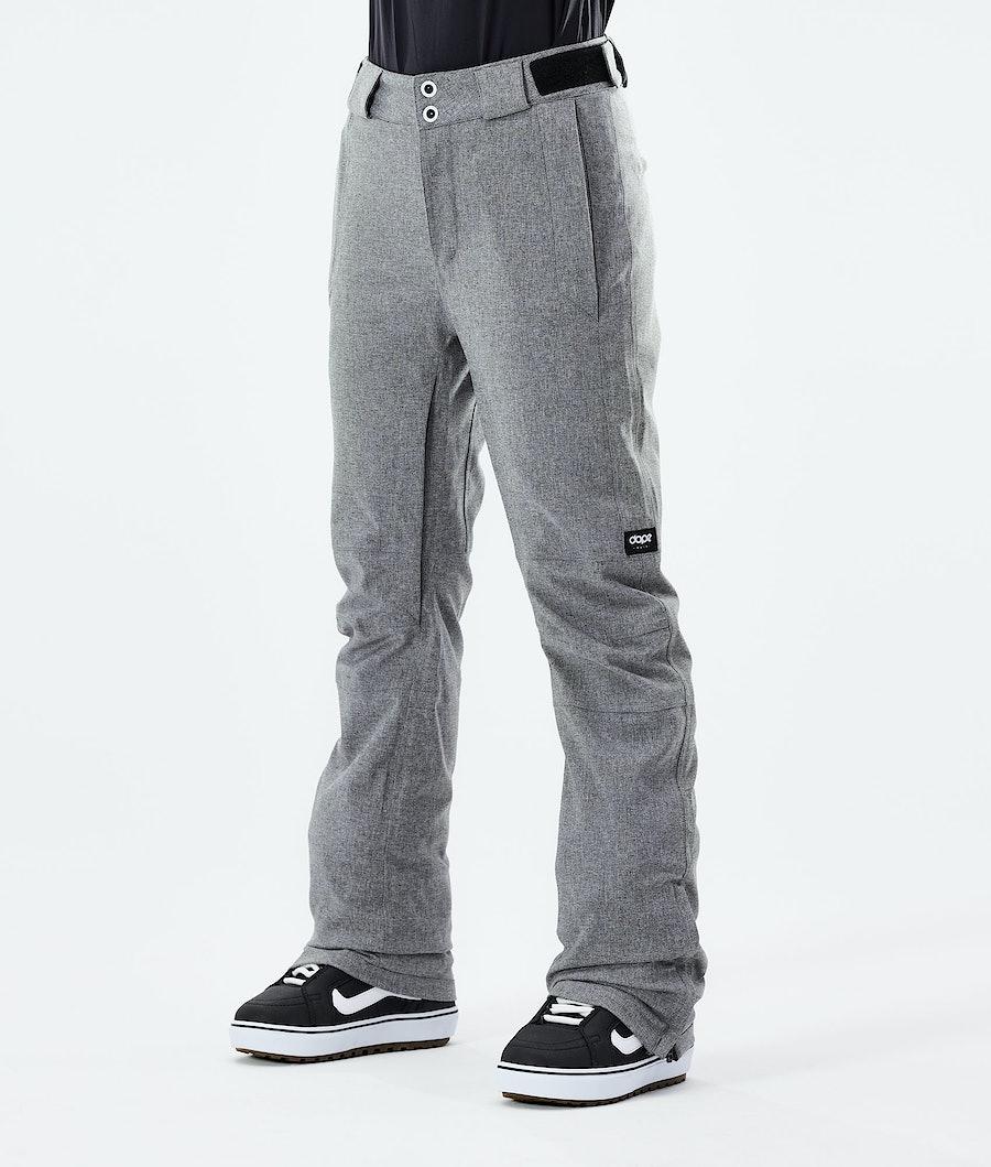 Dope Con Snowboard Pants Grey Melange