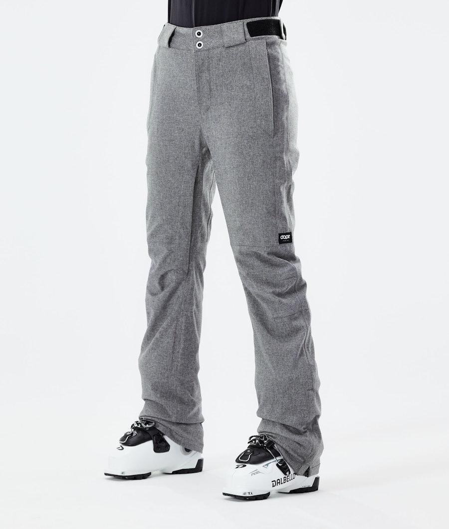 Con 2020 Ski Pants Women Grey Melange