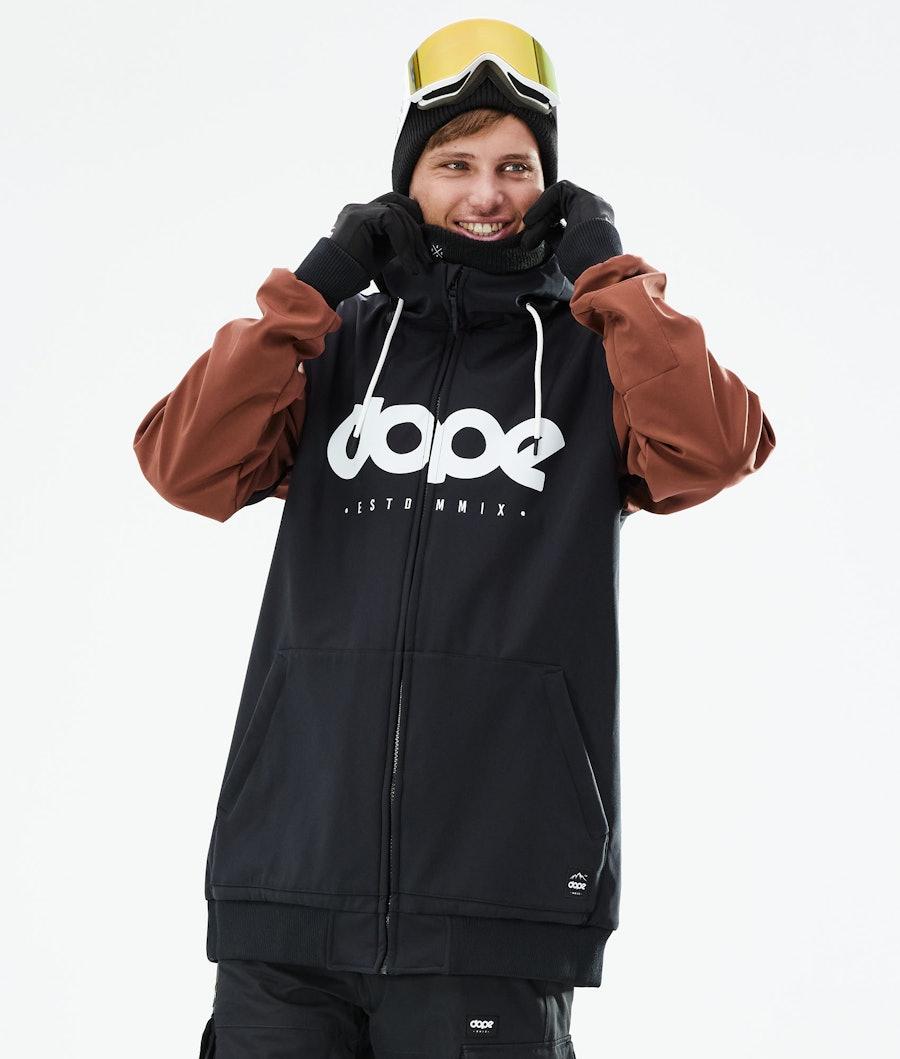 Standard DO Snowboard Jacket Men Black/Adobe