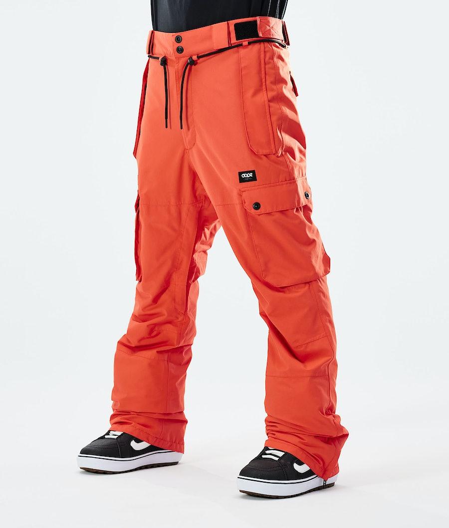 Iconic Snowboard Pants Men Orange