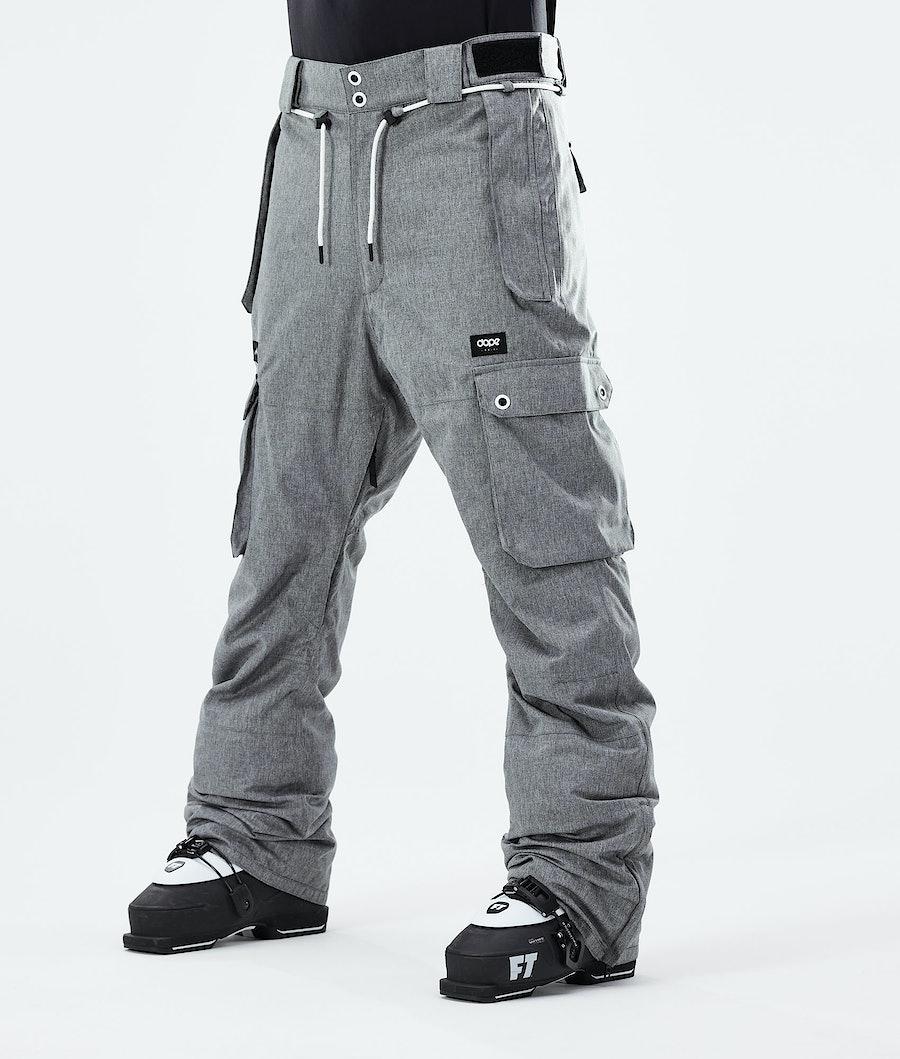 Dope Iconic Pantaloni Sci Grey Melange