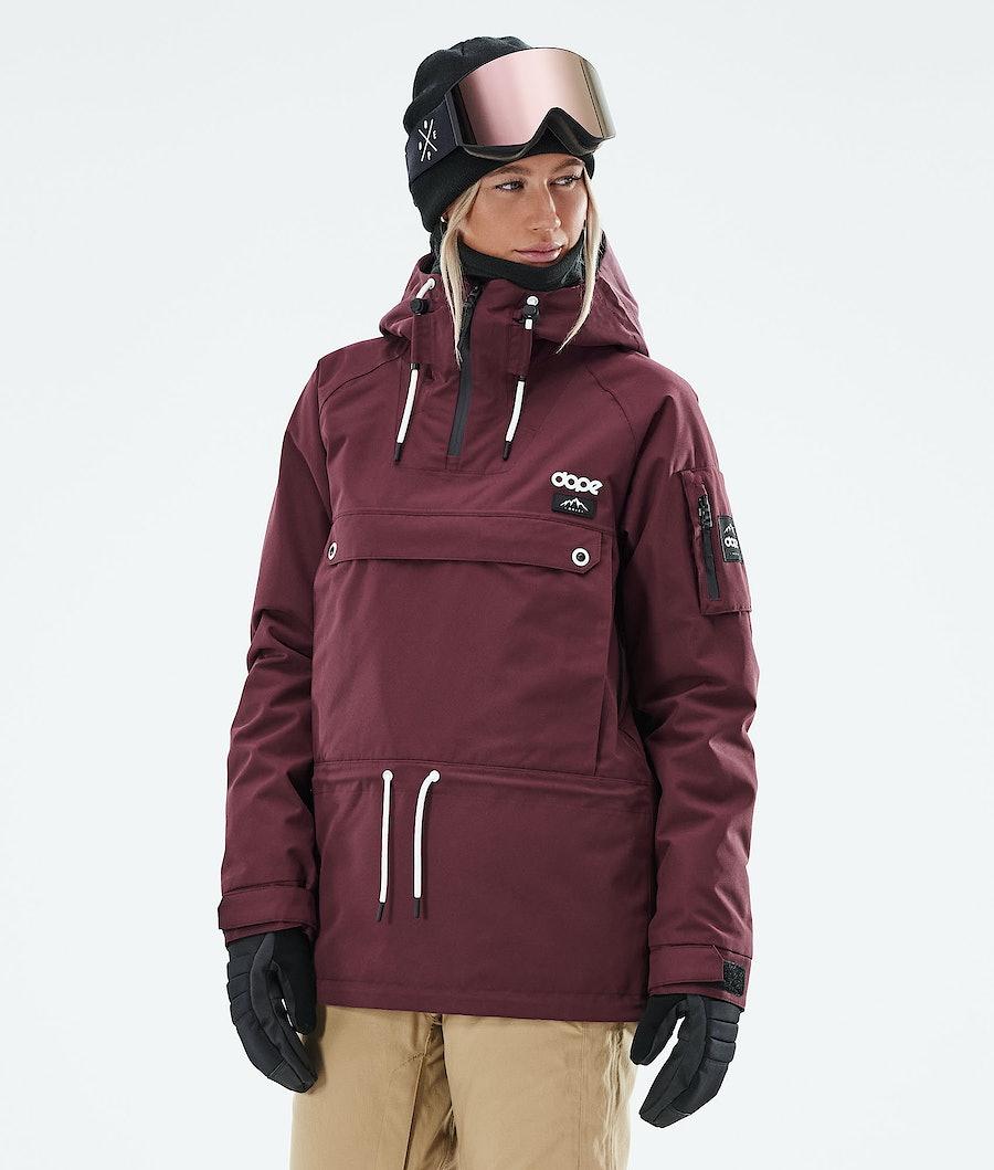 Dope Annok W Snowboardjacke Burgundy