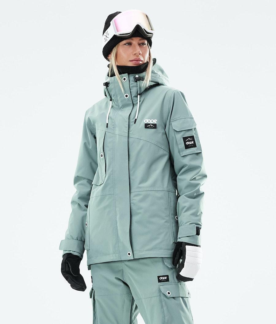 Dope Adept W Snowboardjacke Faded Green