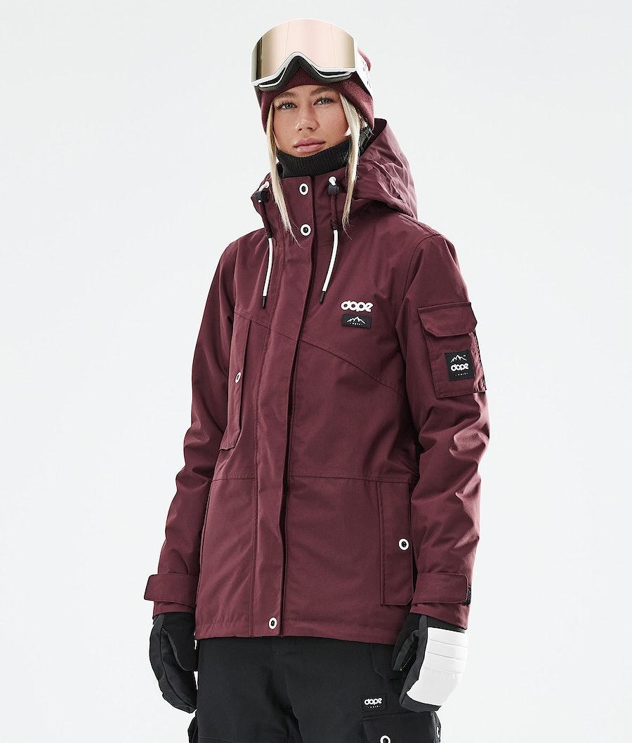 Dope Adept W Snowboardjacke Burgundy