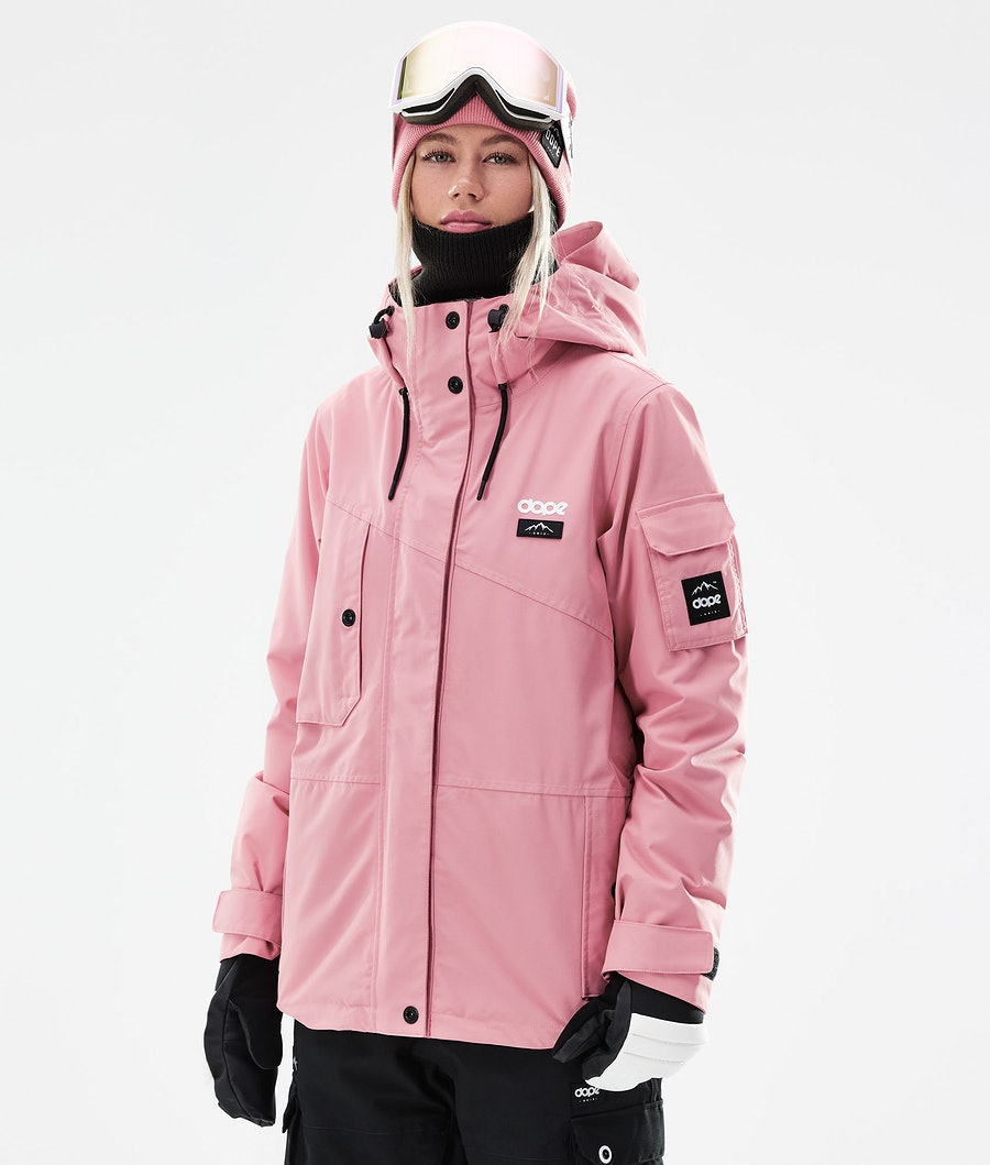 Dope Adept W Snowboardjacke Pink