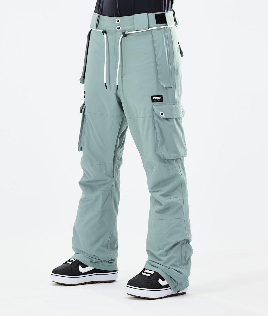 Dope Iconic W Pantaloni Snowboard Faded Green