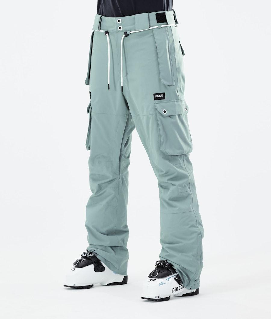 Dope Iconic W Ski Pants Faded Green
