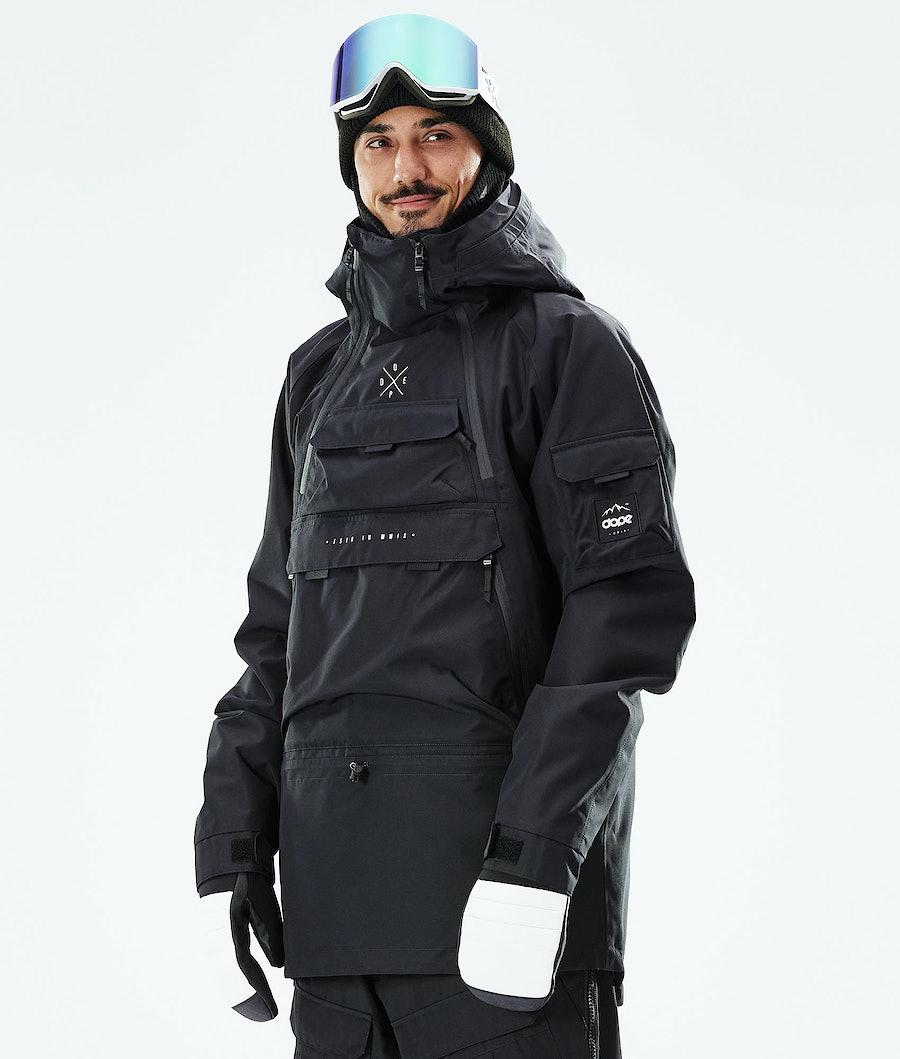 Dope Akin Giacca Snowboard Black