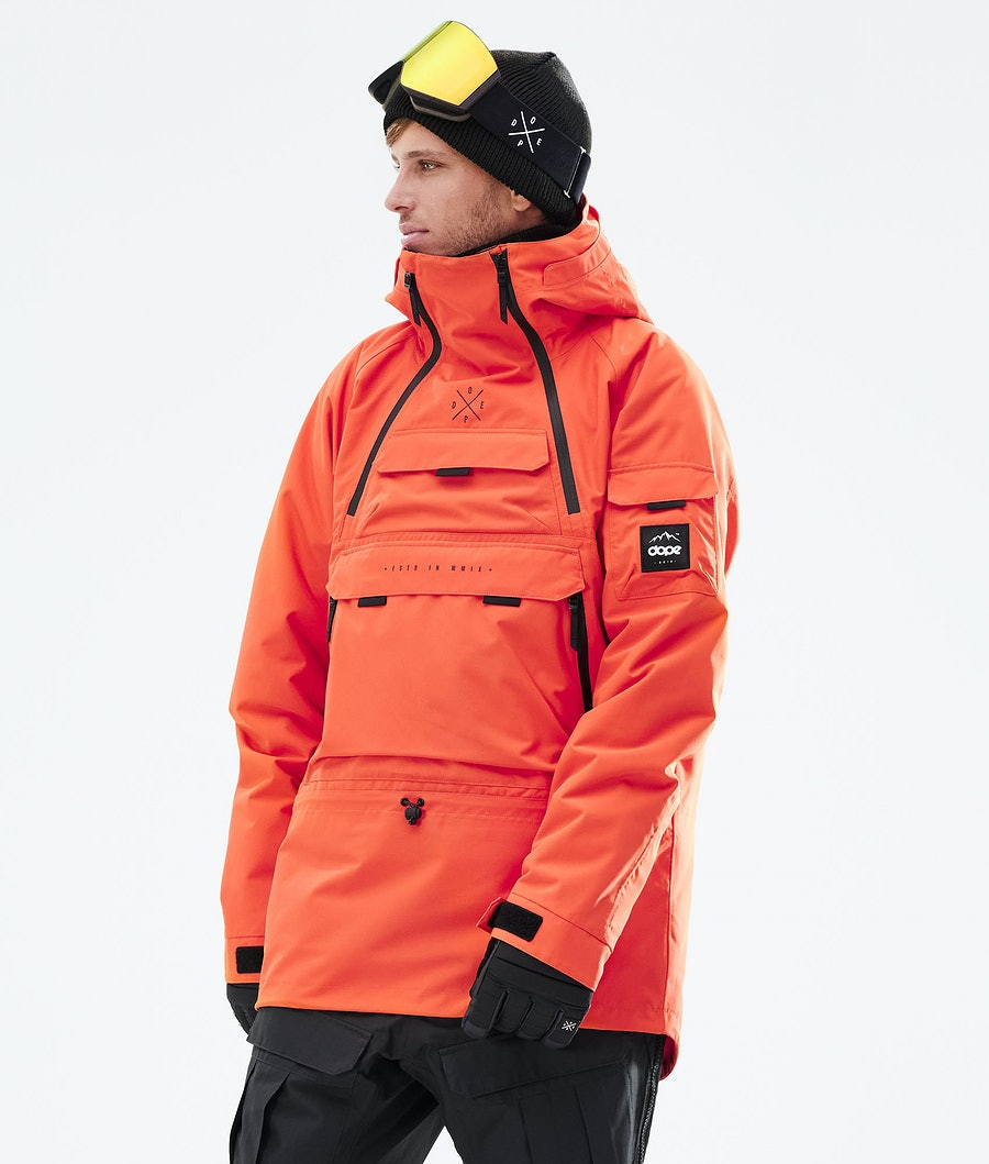 Akin Ski Jacket Men Orange