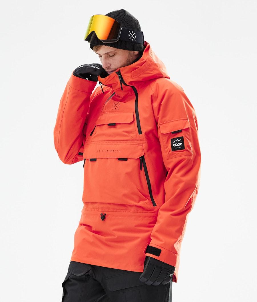 Dope Akin Giacca Snowboard Orange
