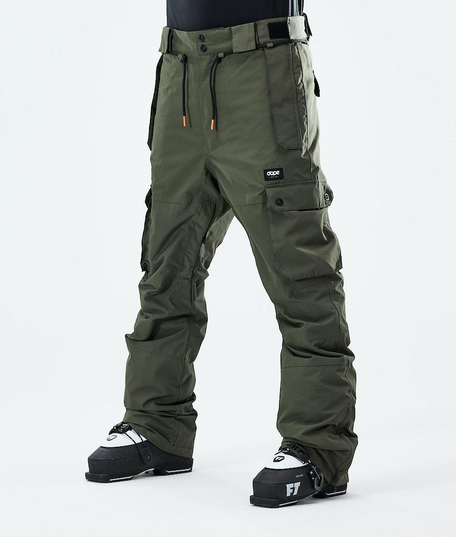 Dope Iconic Pantalon de Ski Olive Green