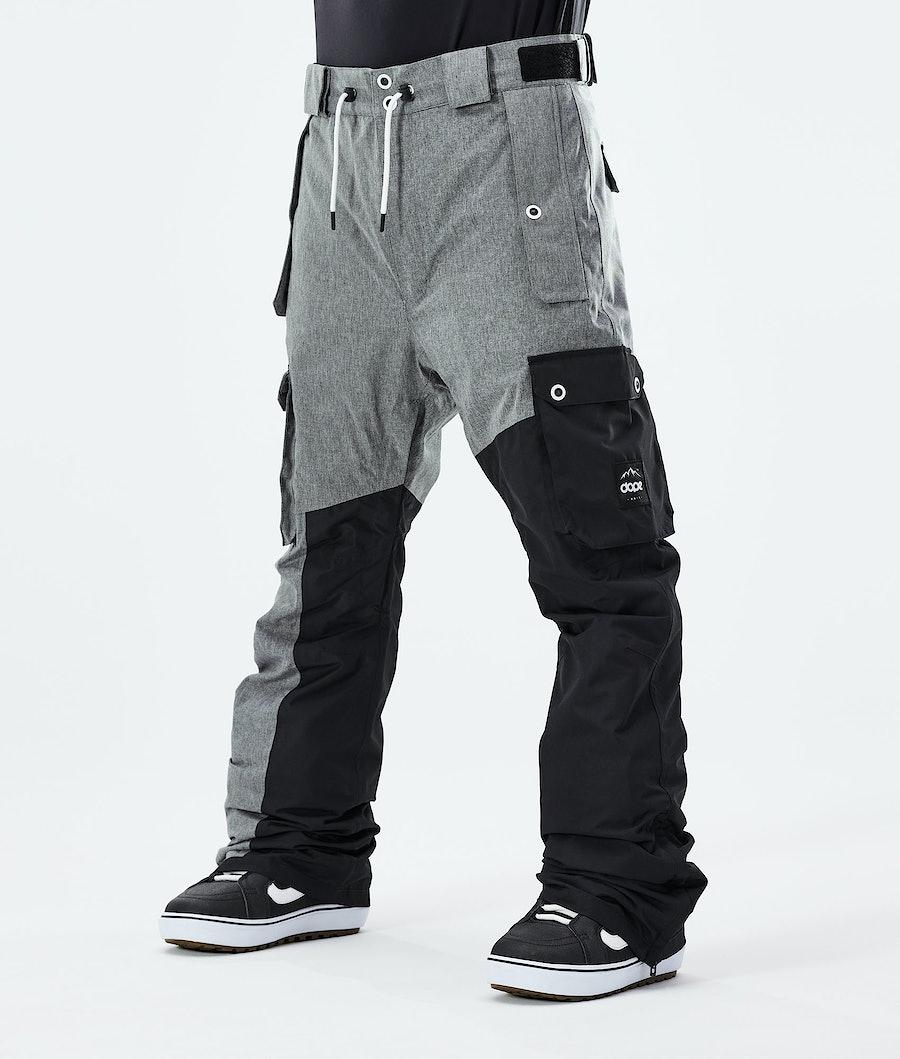 Adept Snowboard Pants Men Grey Melange/Black