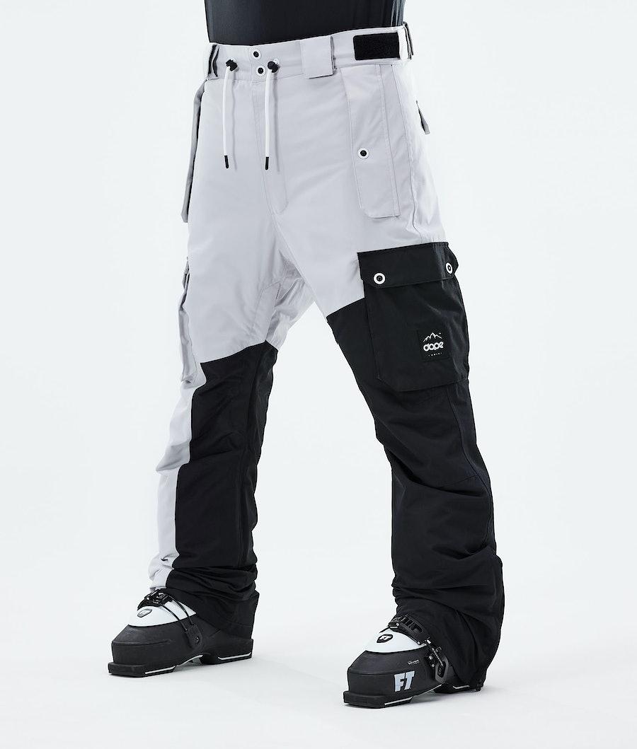 Dope Adept Pantalon de Ski Light Grey/Black