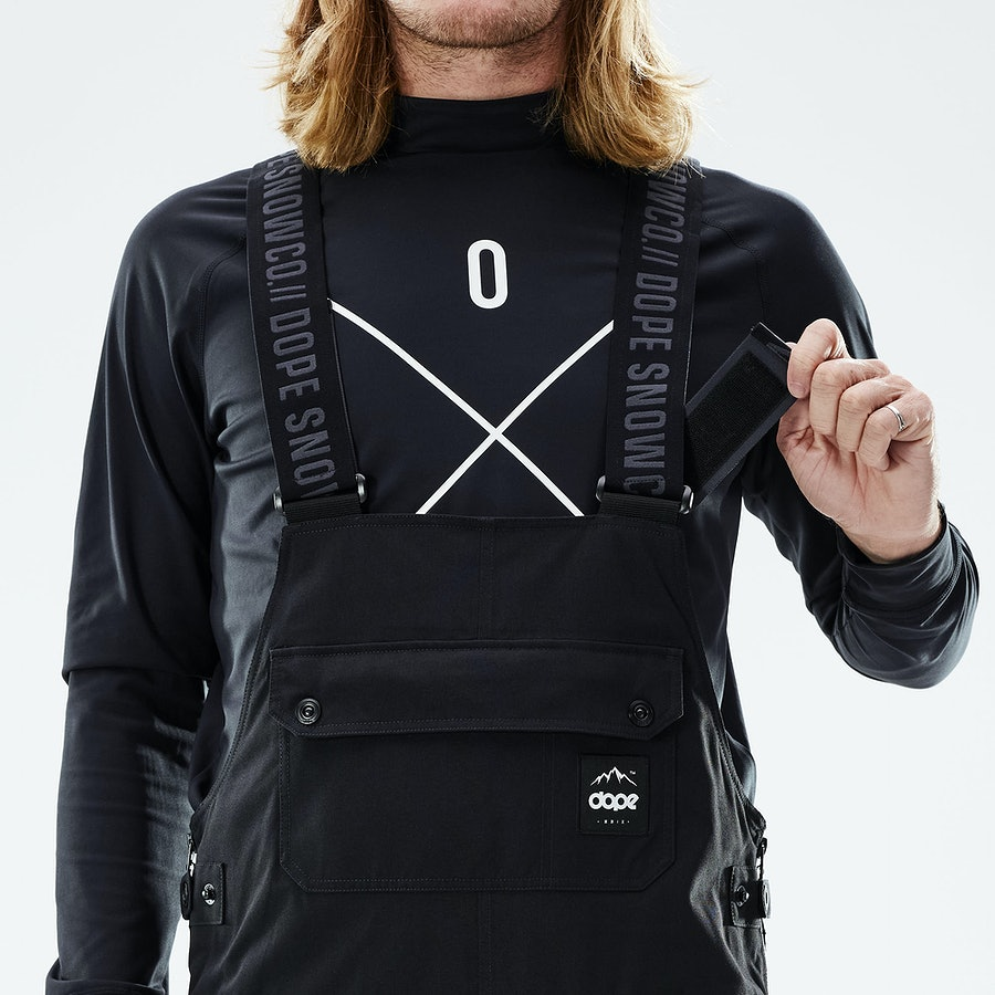 Built-In Adjustable Suspenders