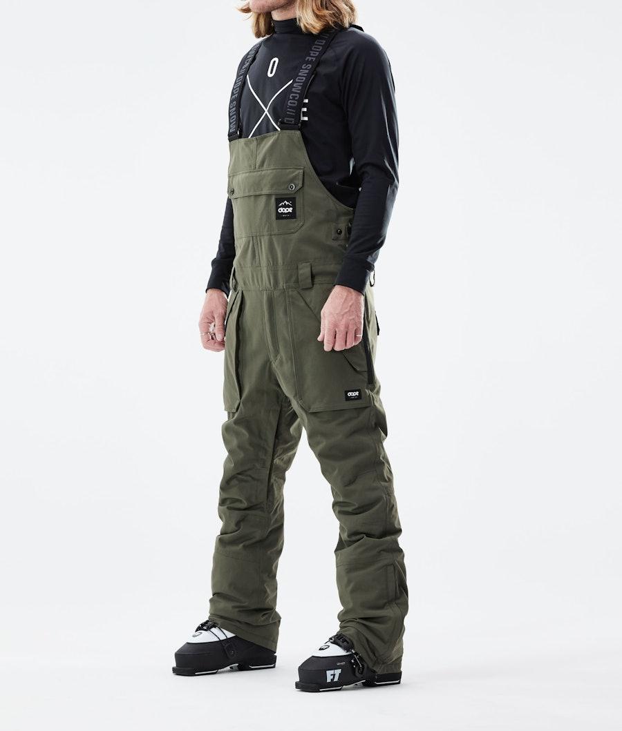 Dope Notorious B.I.B Pantaloni Sci Olive Green